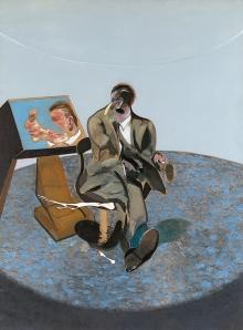 bacon-retrato de george dyers en un espejo